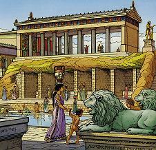 Acrocorinthe, bordel dédié à Aphrodite