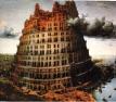 La tour de Babel, ou l'utopie mondialiste mortifère d'un monde sans frontières, et donc sans peuples.