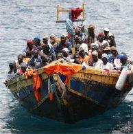 Bateau d'immigrés clandestins