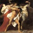 Oreste, meurtrier de sa mère, poursuivi par les Erynies