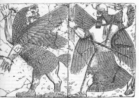 Marduk contre Tiamat