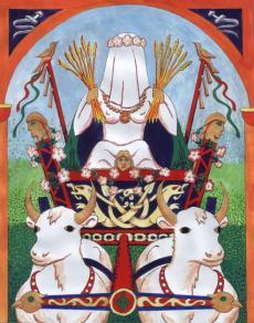La déesse-mère Nerthus