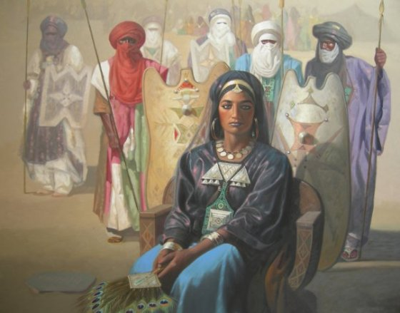 Tin Hinan, reine des Touareg