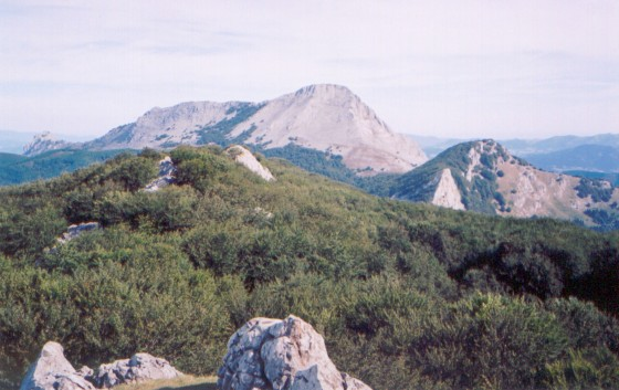 Anboto is one of the mountains where Mari is supposed to live