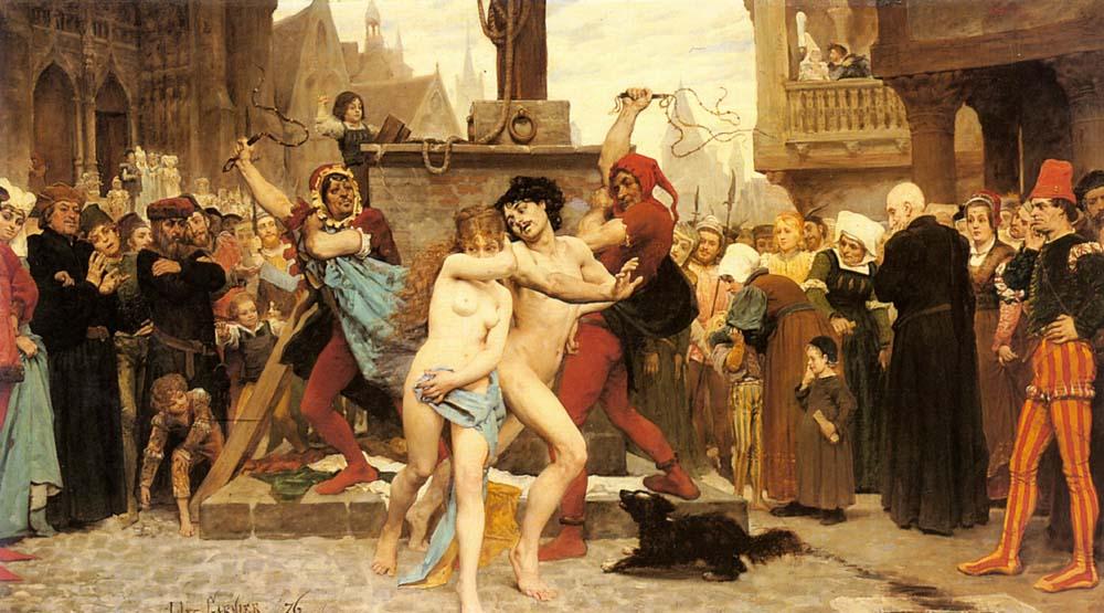 Hommes romains esclaves sexuels