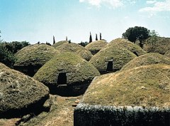 Nécropole étrusque de Cerveteri