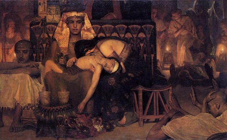 Quand Yahvé extermine tous les premiers nés d'Egypte