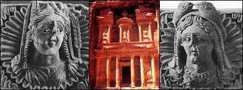 Matriarcat & Religions : des vestiges secrets au syncrétisme Al-uzza-couronnc3a9e-de-dauphins