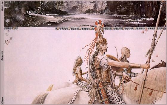 Matriarcat & Religions : des vestiges secrets au syncrétisme Amazones-alan-lee