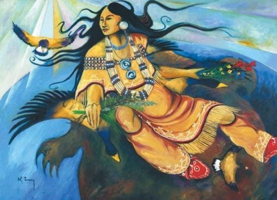 Ataensic déesse mère iroquoise