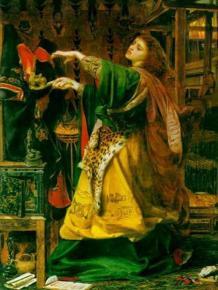 La fée Morgane, prêtresse païenne