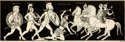 Matriarcat & Religions : des vestiges secrets au syncrétisme Les-grecs-contre-les-amazones