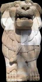 [C. sumérienne] La Déesse AL-LAT Palmyre_lion_allat