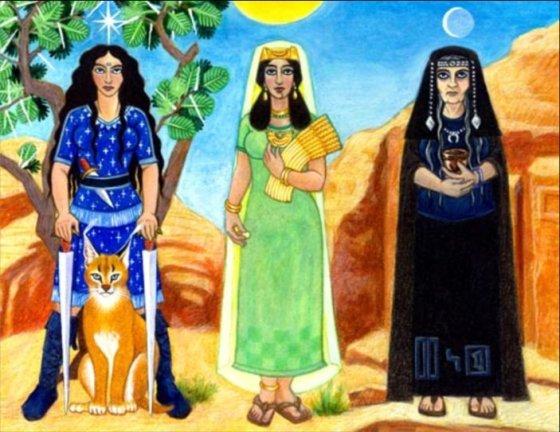 [C. sumérienne] La Déesse AL-LAT Uzza-allat-menat