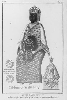 """Les """"religions"""" de Babylone la Grande. Vierge-noire-notre-dame-du-puy-en-velais"""