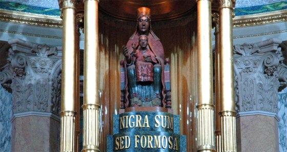 Vierge Noire Tindari Sicile (2)