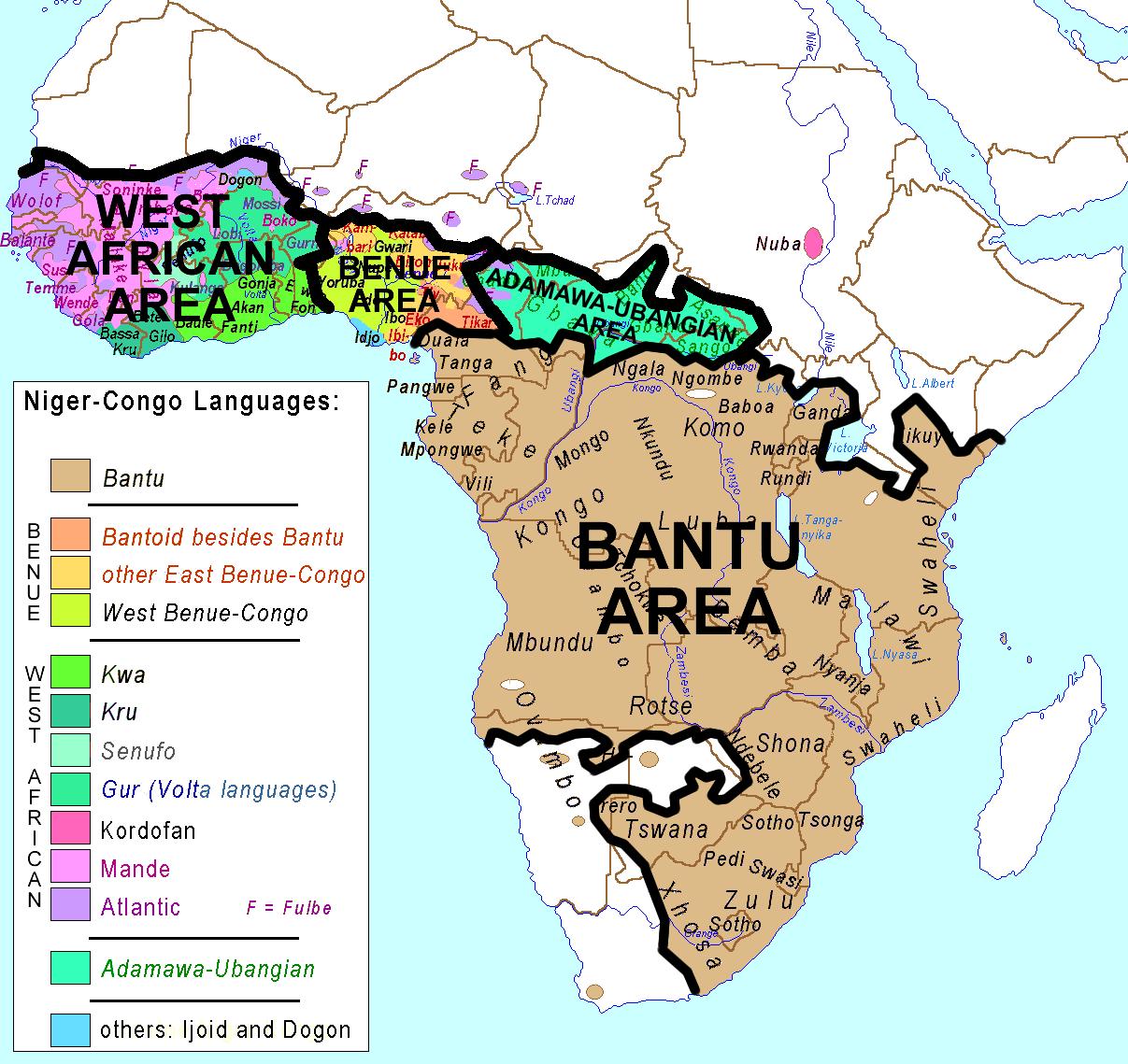 Groupes ethniques en Afrique