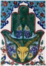 Origines de l'islam : ses racines païennes Tanit-la-main-de-fatima