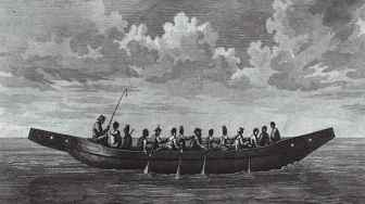 Canoé Tlingit, 1791