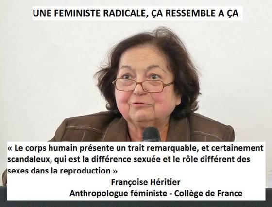Françoise Héritier pour la théorie du Genre