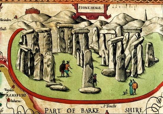 Historia Regum Britanniae Stonehenge