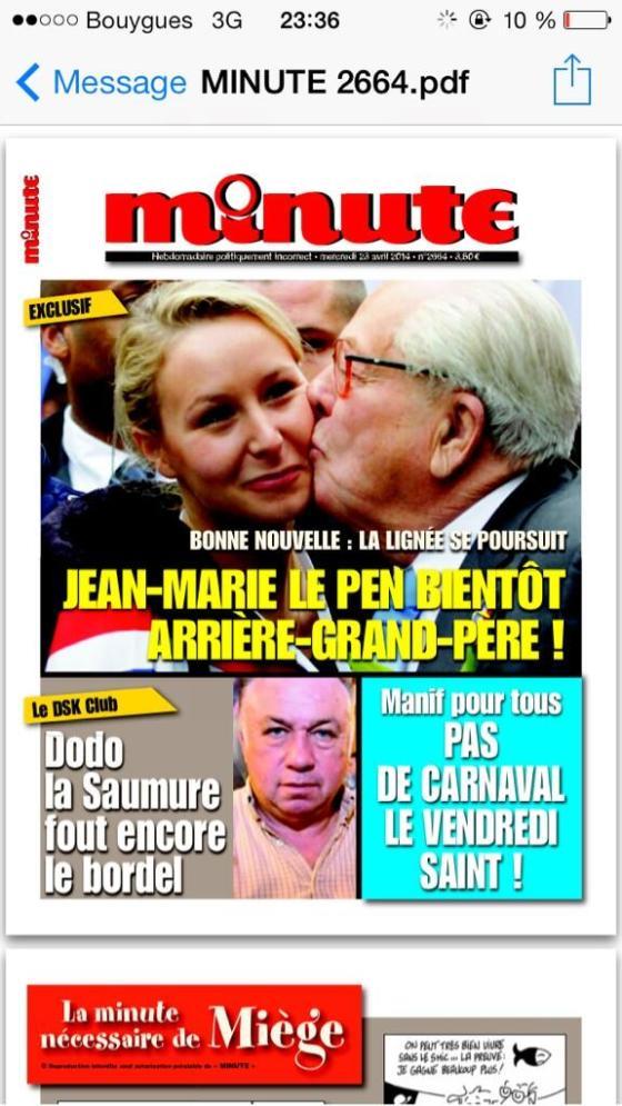 Marion Maréchal Le Pen enceinte hors mariage