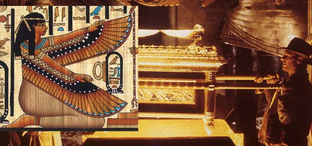 Пактінің кемені - Египет - богиня Маат