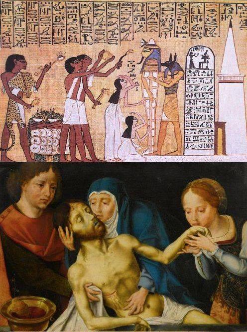 Lamentation d'Isis et Nepthys