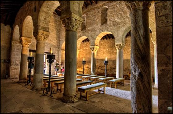 San Juan et ses colonnes romaines