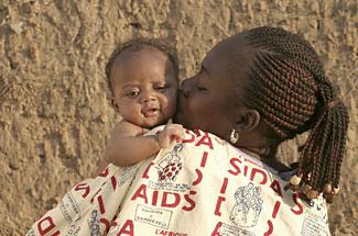 maman sida bébé afrique