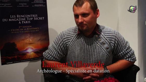 Laurent Villaverde, archéologue récentiste, spécialiste en datations