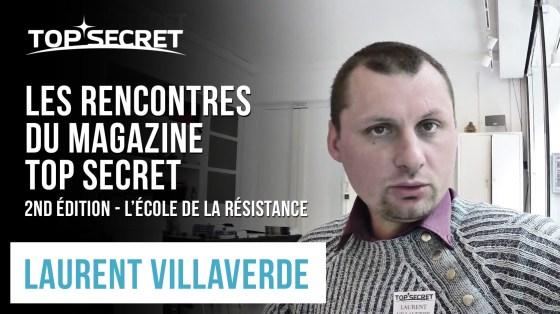 Laurent Villaverde - Les Rencontres du magazine Top Secret, Mai 2015 - Paris